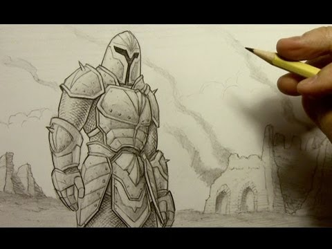 How To Draw Armor Youtube