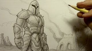 How to Draw Armor(All 3