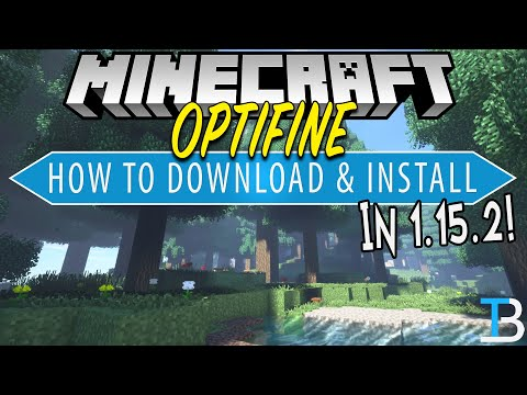 How To Download & Install Optifine In Minecraft 1.15.2