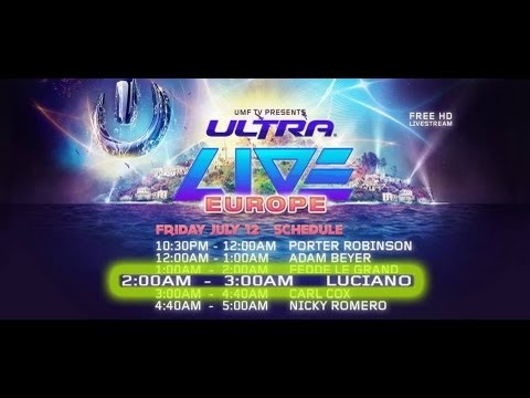 Luciano   Live at Ultra Music Festival Europe Croatia 12/07/2013
