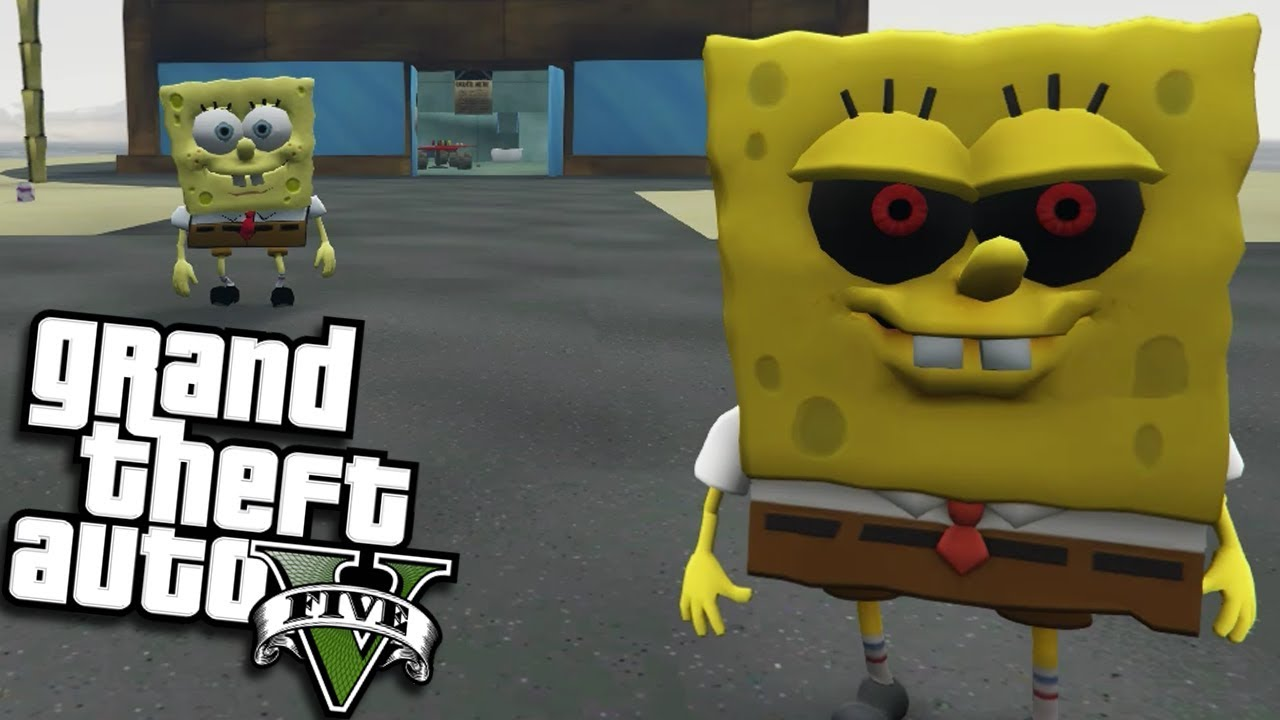 Exe Vs Spongebob Mod Gta  Pc Mods Gameplay