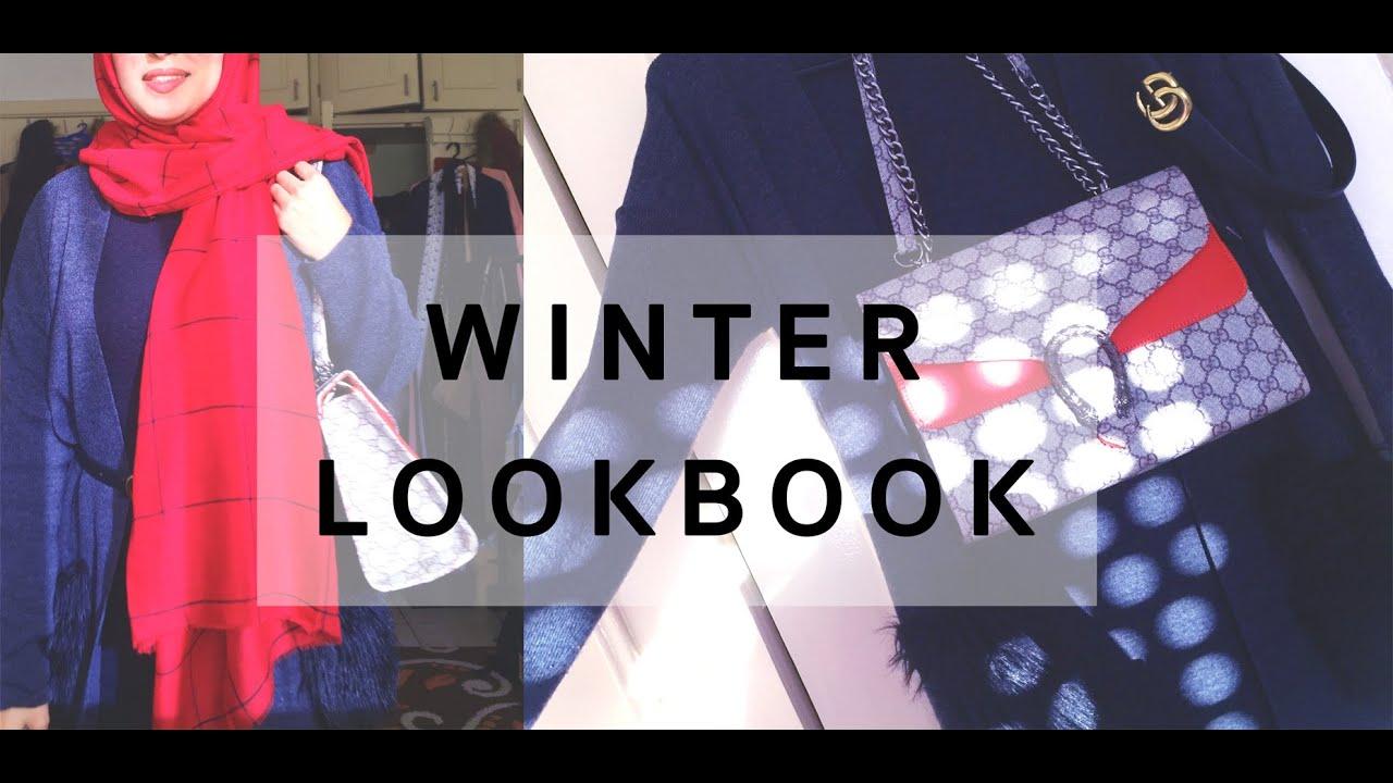 Winter Hijab Lookbook 2019 | تنسيقات للمحجبات | Shein Try on HAUL 7