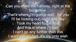 Can You Meet Me Halfway:Black Eyed Peas.