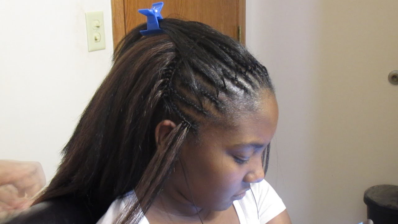 How to: Straight Crochet Braids Start to Finish with ...