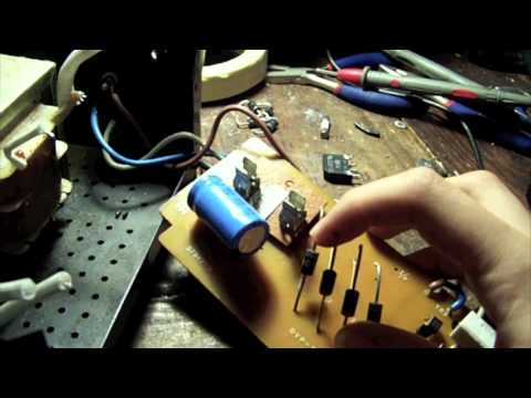 Repairing fuse blowing power supplies on