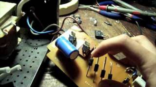 Repairing fuse blowing power supplies