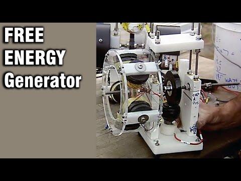 Free Energy Generator - Overunity Motor/Generator