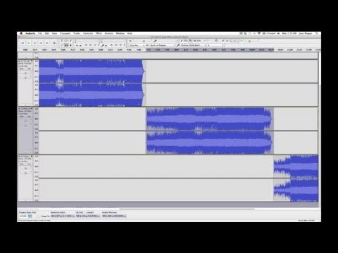 How to Multitrack Records With Audacity : Audio Digital Media