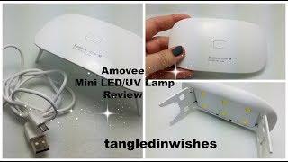 tangledinwishes   Awesome AMOVEE  Mini LEDUV Lamp Review