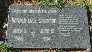 Remembering Murder Victim Ron Goldman At His Grave In The Valley Oaks Cemetery In Westlake, CA