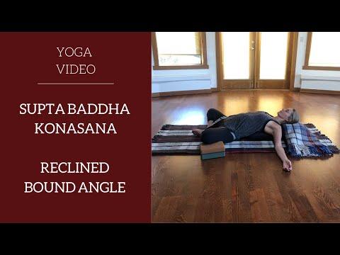 Restorative Yoga Basics: Reclined Bound Angle / Supta Baddha Konasana