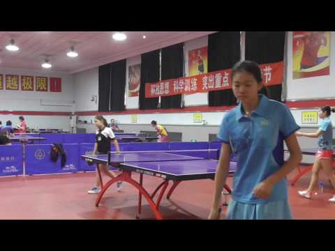 Anna Hursey, regional squad match, Harbin, China