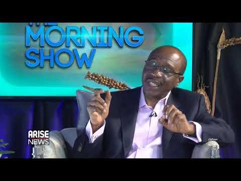 Godwin Emefiele, Gov. Central Bank of Nigeria, Talks Stabilising the Economy & Economic Growth(1)