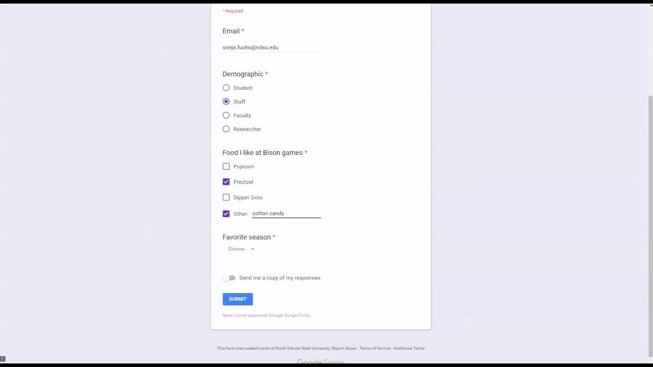 google response receipt youtube