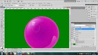 Видео-урок №2: Глянцевые шарики