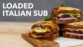 Loaded italian sub  BA Recipes]