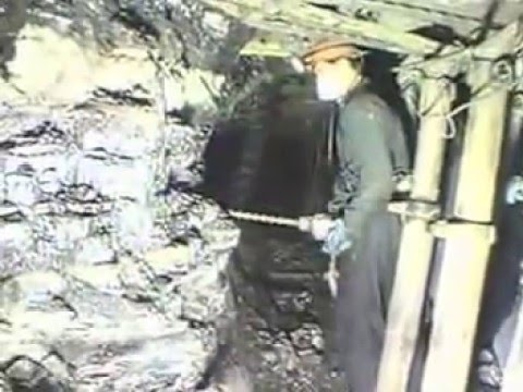 Real Miners, Old Method Underground Coal Mining