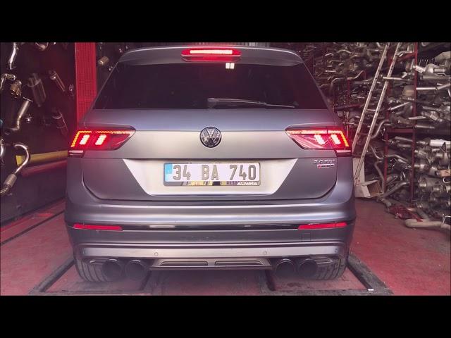 VW TIGUAN 2.0 TDİ DİZEL KUMANDALI VAREX EGZOZ SESİ