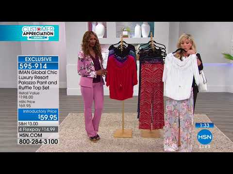 HSN | IMAN Global Chic Fashions 04 27 2018 - 11 PM - YouTube