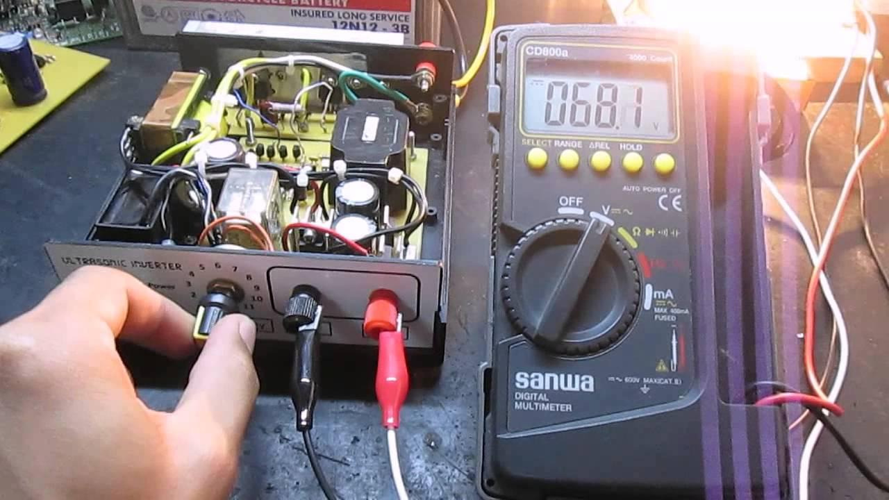 ultrasonic electrical wiring diagram free [ 1280 x 720 Pixel ]