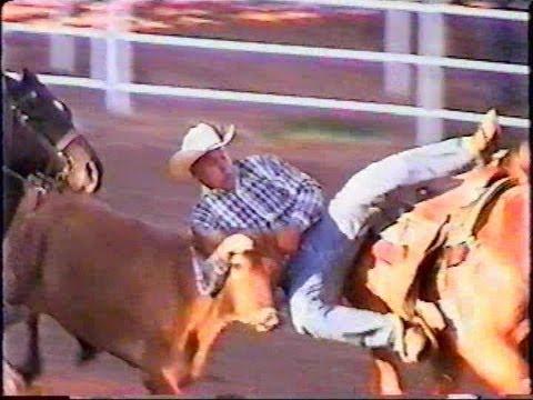 Steer Wrestling - Cheyenne Rodeo - 2000