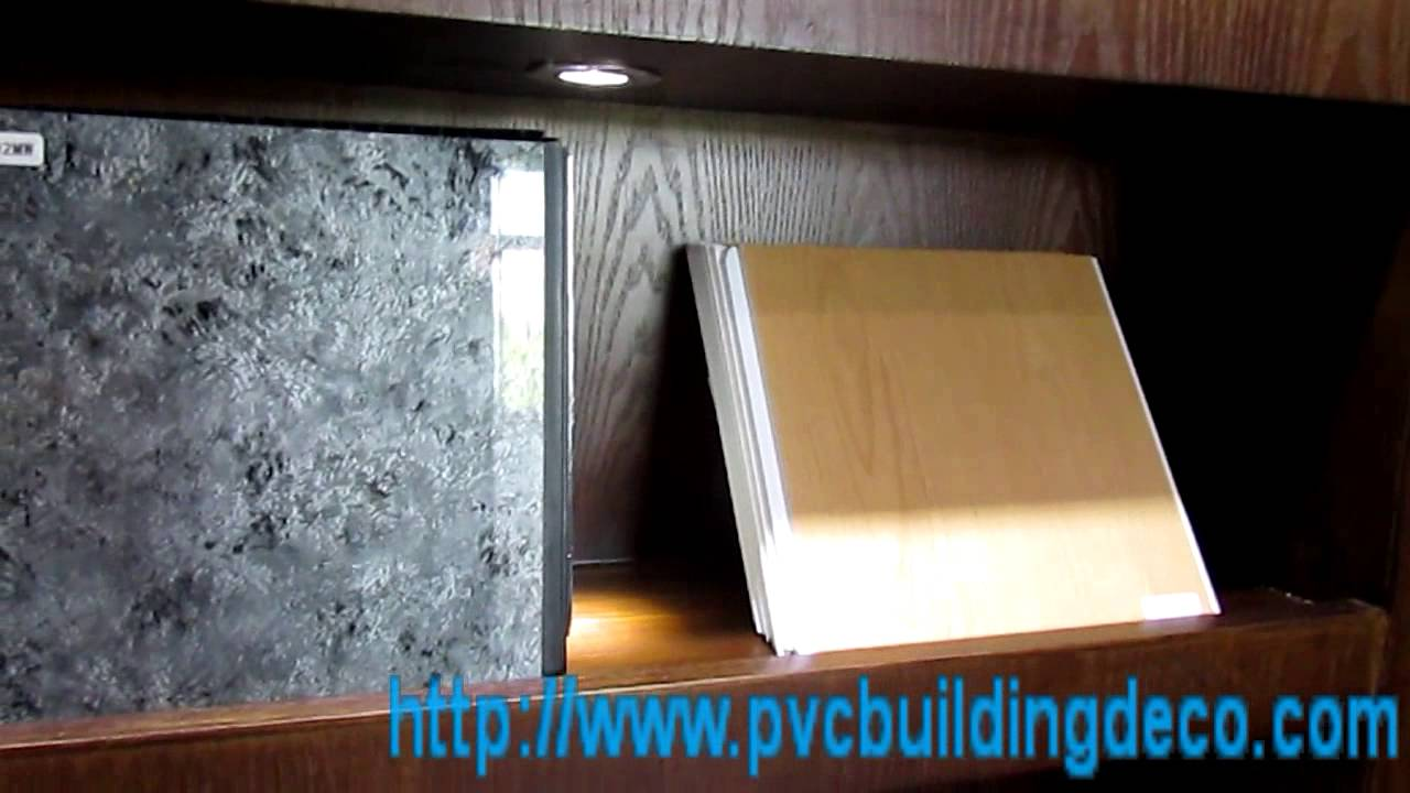 Upvc Ceiling Plate Wall Panels For Kitchen And Bathroom 1 Youtube