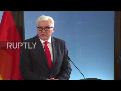 Germany: Steinmeier warns Johnson not to delay Brexit negotiations