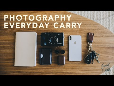 Photography Every Day Carry (EDC)