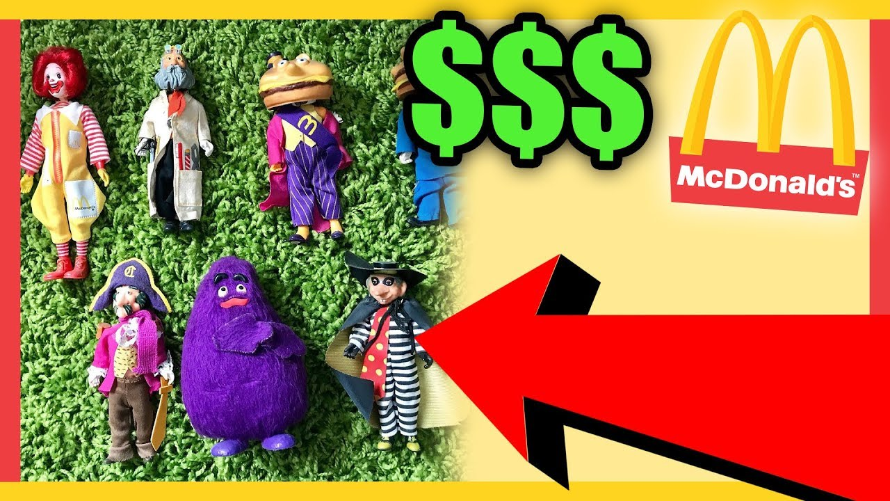 10 RARE MCDONALDS TOYS WORTH MONEY - COLLECTIBLE HAPPY MEAL TOYS