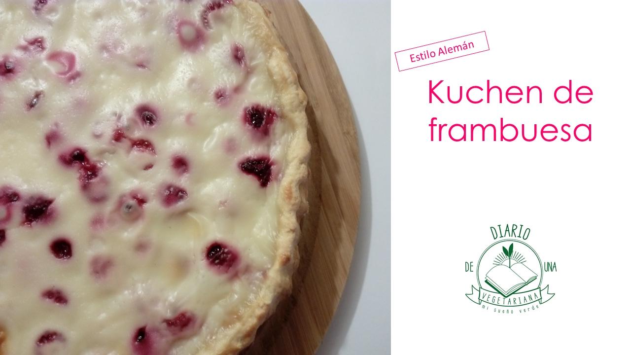 Kuchen Frambuesa Estilo Alemán #17