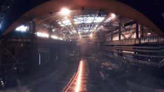 EVRAZ 100-m rails manufacturing panoramic tour