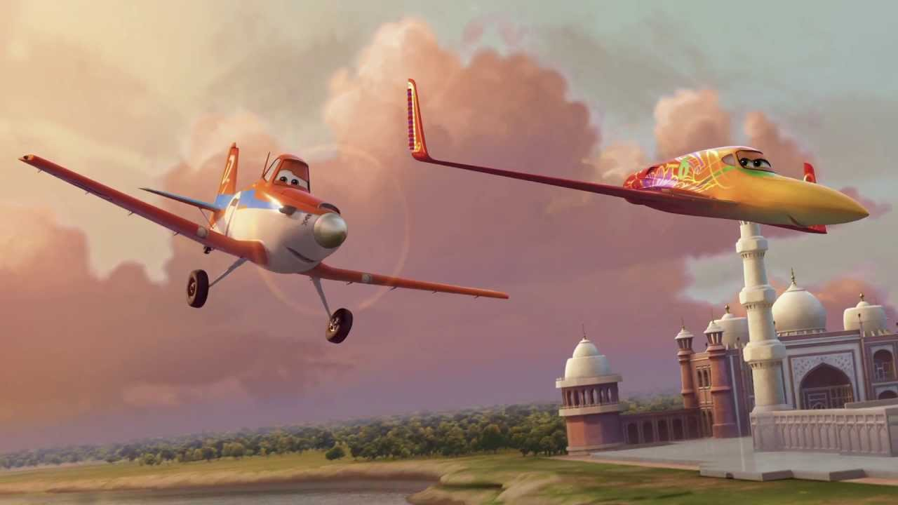 Planes - Extrait : Dusty et Ishani arrrivent au Taj Mahal ... Planes Movie Dusty And Ishani