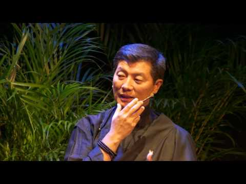 Sikyong Dr. Lobsang Sangay and Paul Barclay in Conversation at the Festival of Tibet, 2017