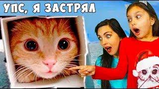 НЕ ЗАСМЕЙСЯ ЧЕЛЛЕНДЖ с КОТАМИ! и Мамой Попробуй не засмеяться Funny Cat реакции Валеришка
