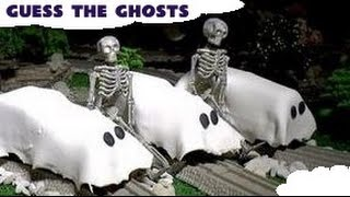 play doh ghosts thomas and friends trackmaster spooky toy trains guessing game
