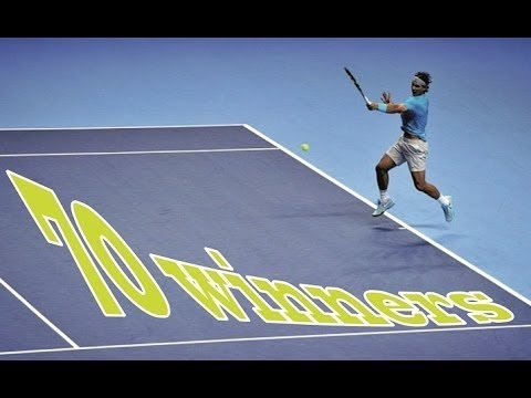 Rafael Nadal ► 70 mighty forehand winners [Collection1] HD