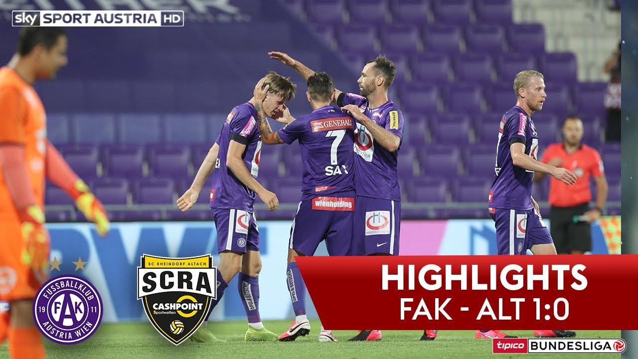 Tipico Bundesliga, Playoff-Halbfinale: FK Austria Wien - SCR Altach 1:0