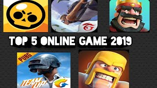 top 5 online game in 2019 |