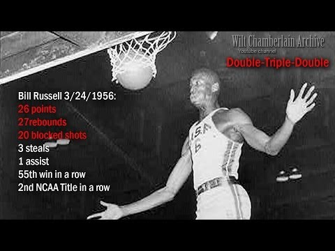 12 minute highlight reel of 1956 NCAA championships (feat. Bill Russell), surprisingly fast/athletic/skilled game.