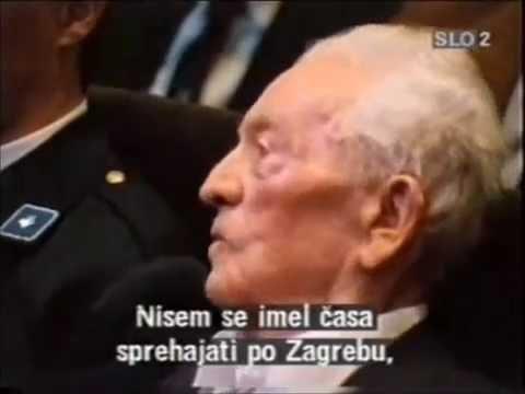 Andrija Artuković o teroristima