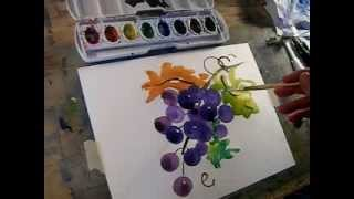Paint Easy Grapes