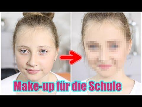 ICH SCHMINKE MEINE 11-jährige Cousine l SO sollte man sich für die SCHULE schminken