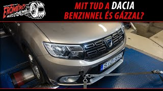 Totalcar Erőmérő: How strong is a Dacia with petrol and with gas?