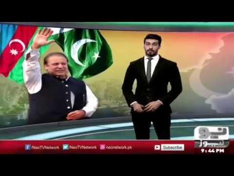 Nawaz Sharif to embark on two day Azerbaijan visit | Neo News