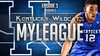 NBA 2K15: Kentucky MyLeague Ep.3 | Sam Dekker is Syndicate