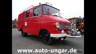 Youtube-Video Opel Blitz 1.9 ex Feuerwehr 70PS - 6 Zylinder 2586ccm