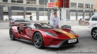 Chaos driving the Ford GT in NYC
