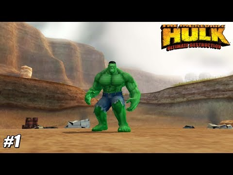 The Incredible Hulk: Ultimate Destruction - PS2 Gameplay Playthrough 1080p (PCSX2) PART 1