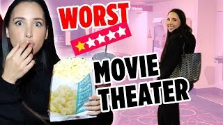 I WENT TO THE WORST REVIEWED MOVIE THEATER IN MY CITY ON YELP (1 STAR ⭐️) | Mar