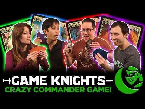 Crazy Commander Game with Gaby Spartz and Kenji Egashira l Game Knights #16 l EDH Gameplay